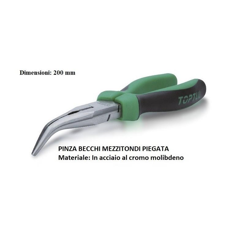 PINZA BECCHI MEZZITONDI PIEGATA