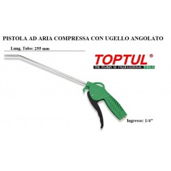 PISTOLA AD ARIA COMPRESSA CON UGELLO ANGOLATO 255mm