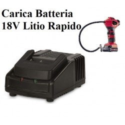 CARICA BATTERIA RAPIDO  LITIO 18V